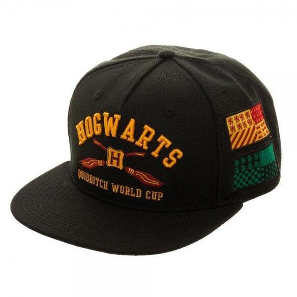 Harry Potter Hogwarts Quidditch World Cup Patches Snapback Hat