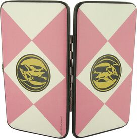Power Rangers Pink Uniform Clutch Wallet