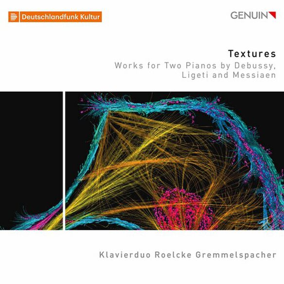 Debussy/ Klavierduo Roelcke Gremmelspacher - Textures