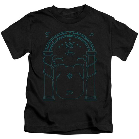 Lord Of The Rings Doors Of Durin Short Sleeve Juvenile T-Shirt