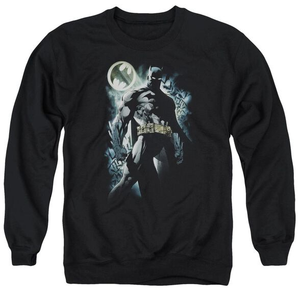 Batman The Knight Adult Crewneck Sweatshirt