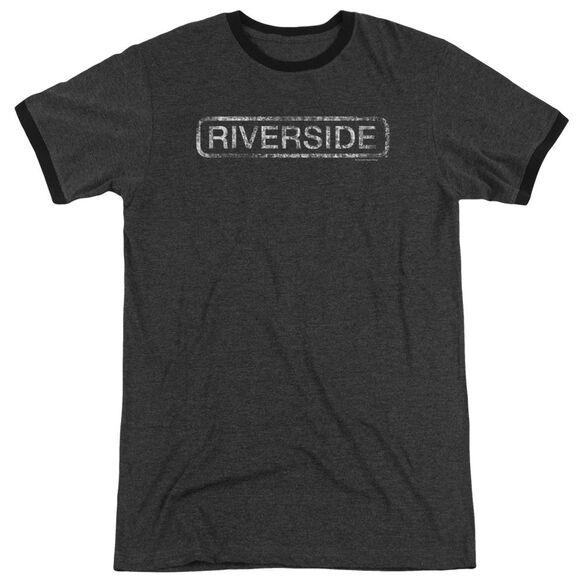 Riverside Riverside Distressed Adult Heather Ringer Charcoal