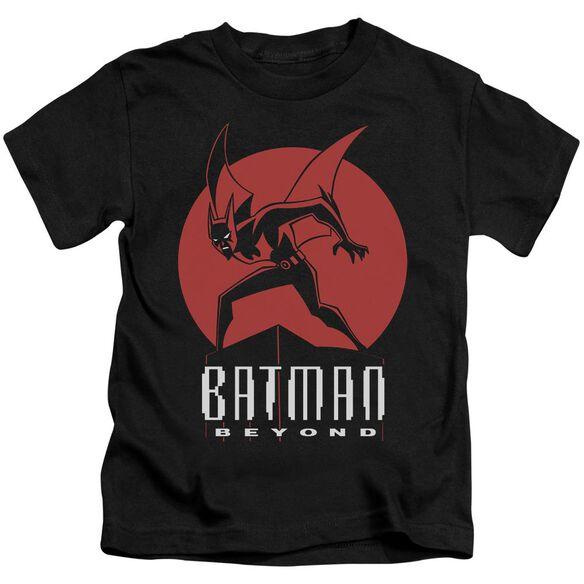 Batman Beyond Perched Short Sleeve Juvenile Black T-Shirt