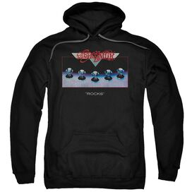 Aerosmith Rocks Adult Pull Over Hoodie