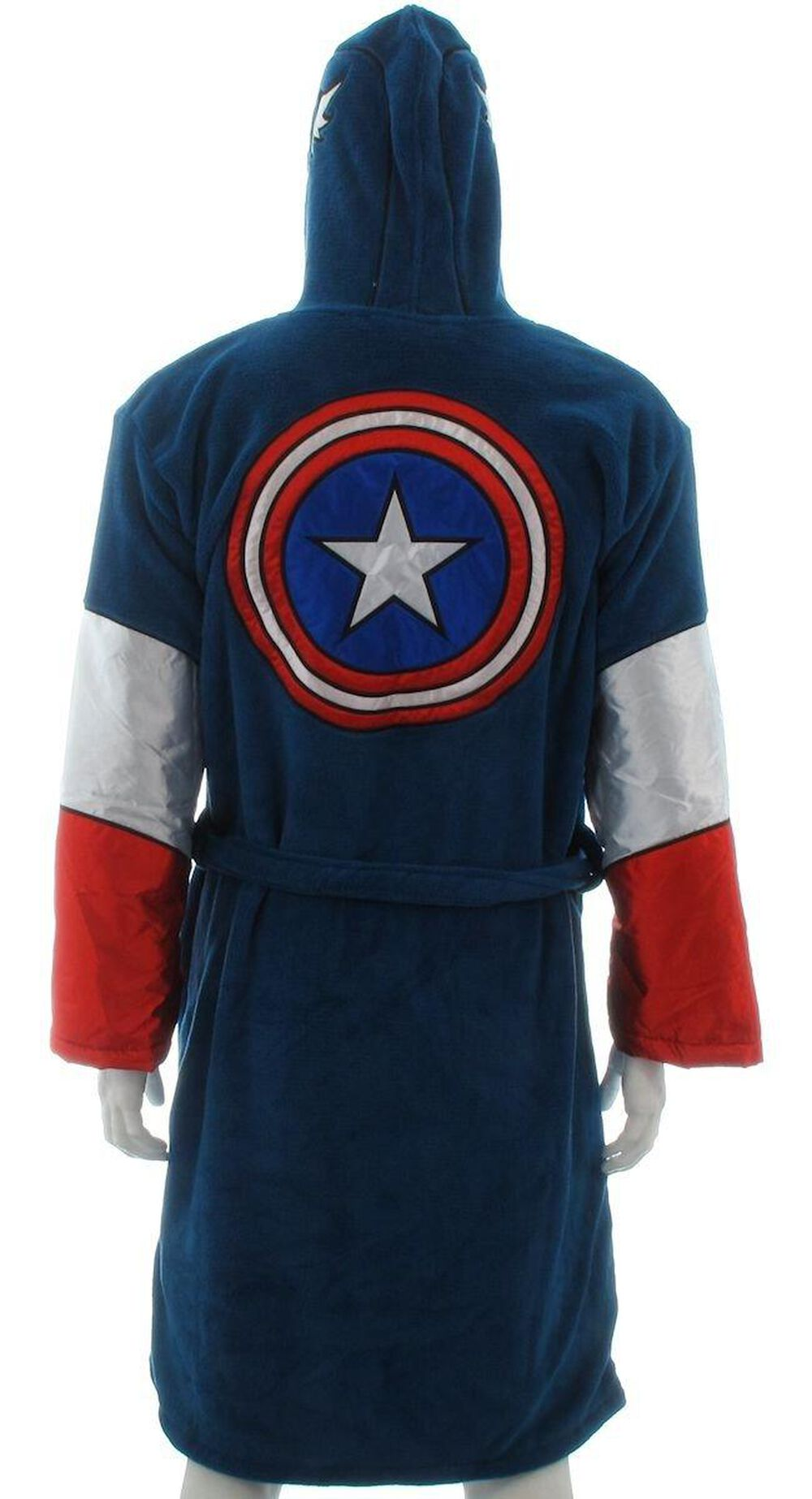 9e16603c93 Captain America Hooded Fleece Robe