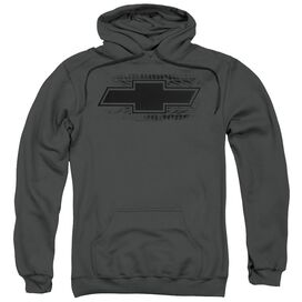 Chevrolet Bowtie Burnout Adult Pull Over Hoodie