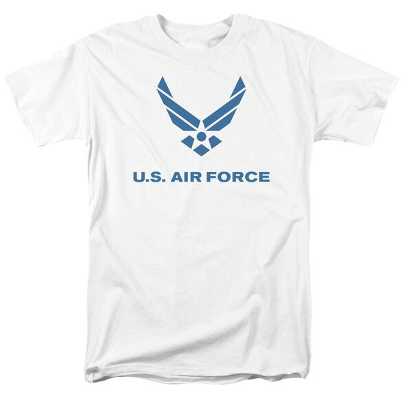 Air Force Distressed Logo Short Sleeve Adult T-Shirt