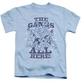 Looney Tunes Gang Short Sleeve Juvenile Light T-Shirt
