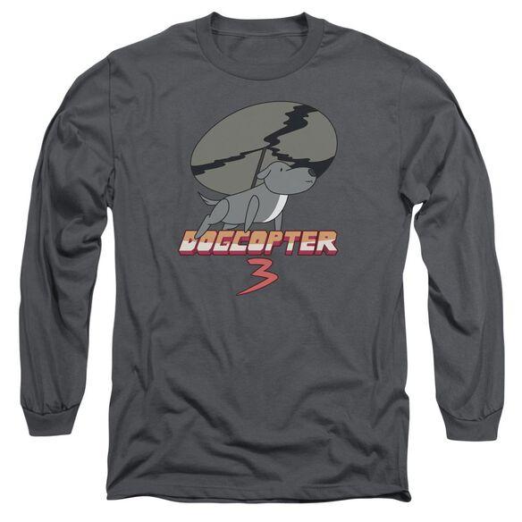 Steven Universe Dogcopter 3 Long Sleeve Adult T-Shirt