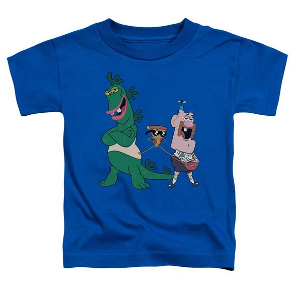 Uncle Grandpa The Guys Short Sleeve Toddler Tee Royal Blue T-Shirt