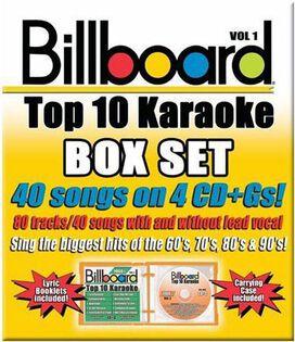 Karaoke - Billboard Top 10 Karaoke, Vol. 1