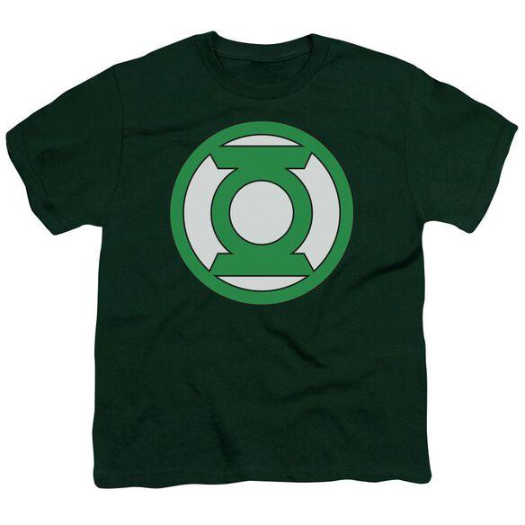 Lantern Lantern Logo Short Sleeve Youth Hunter T-Shirt