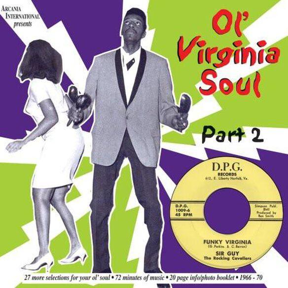 Ol Virginia Soul 2: Funky Virginia / Var