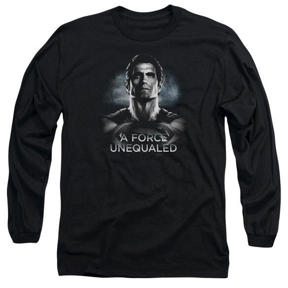 Batman V Superman Unequaled Long Sleeve Adult T-Shirt