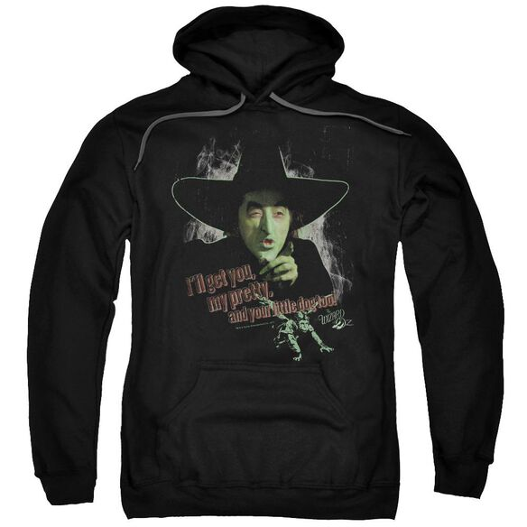 Wizard Of Oz And Your Little Dog Too Adult Pull Over Hoodie