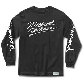 Diamond- Michael Jackson Long Sleeve T-Shirt