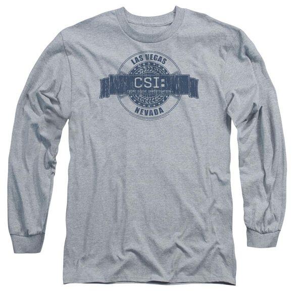 Csi Vegas Badge Long Sleeve Adult Athletic T-Shirt