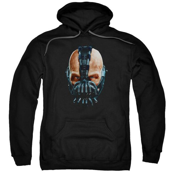 Dark Knight Rises Painted Bane Adult Pull Over Hoodie