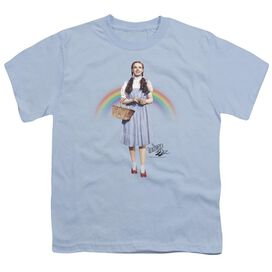 Wizard Of Oz Over The Rainbow Short Sleeve Youth Light T-Shirt