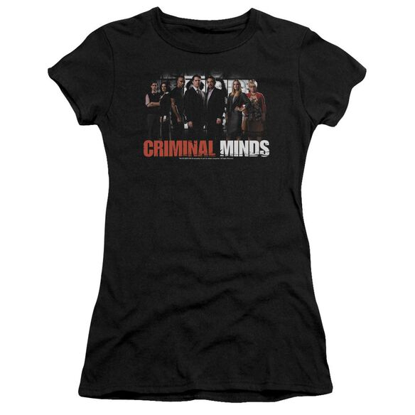 Criminal Minds The Brain Trust Short Sleeve Junior Sheer T-Shirt