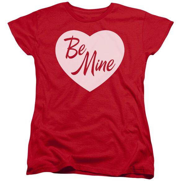 Be Mine Short Sleeve Womens Tee T-Shirt
