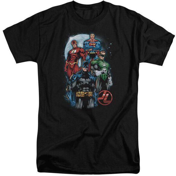 Jla The Four Short Sleeve Adult Tall T-Shirt