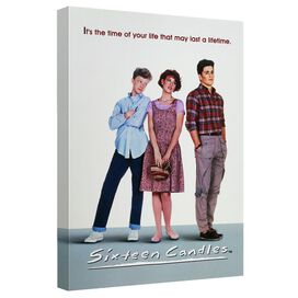 Sixteen Candles Poster Canvas Wall Art With Back Board