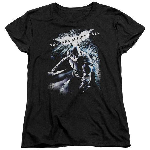 Dark Knight Rises More Than A Man Short Sleeve Womens Tee T-Shirt