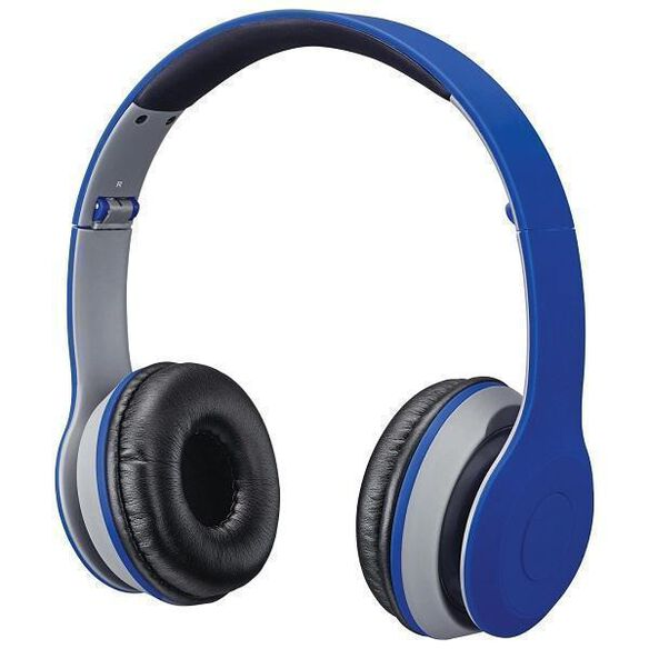 b22c21903cb iLive IAHB38 Bluetooth Audio Wireless Headphones - Blue