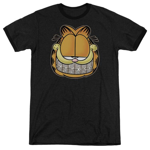 Garfield Nice Grill Adult Heather Ringer