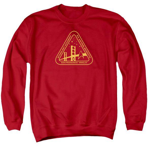 Star Trek Gold Academy Adult Crewneck Sweatshirt