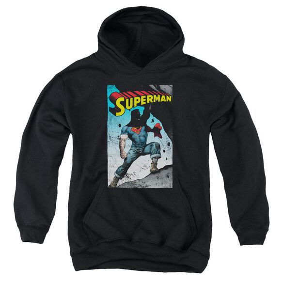 Superman Alternate Youth Pull Over Hoodie