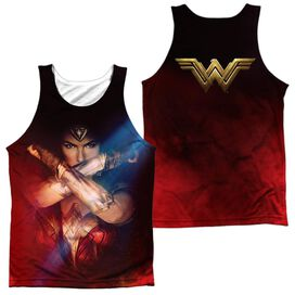 Wonder Woman Movie Arms Crossed (Front Back Print) Adult Poly Tank Top