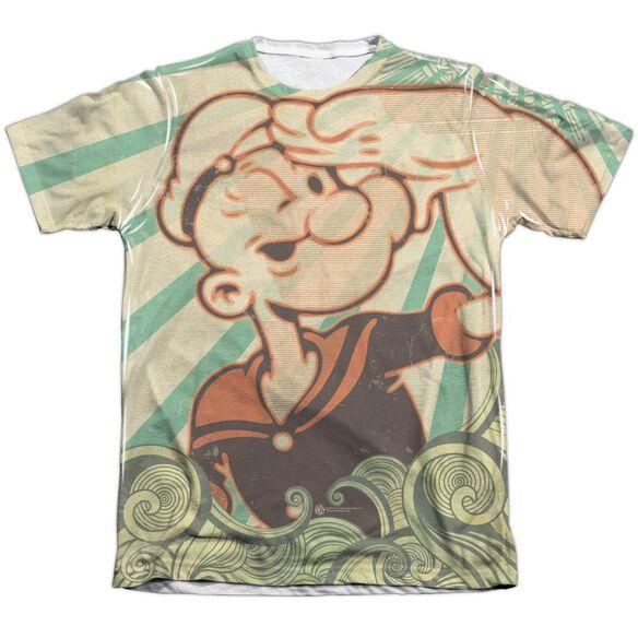 POPEYE TRAVELING MAN-ADULT POLY/COTTON T-Shirt