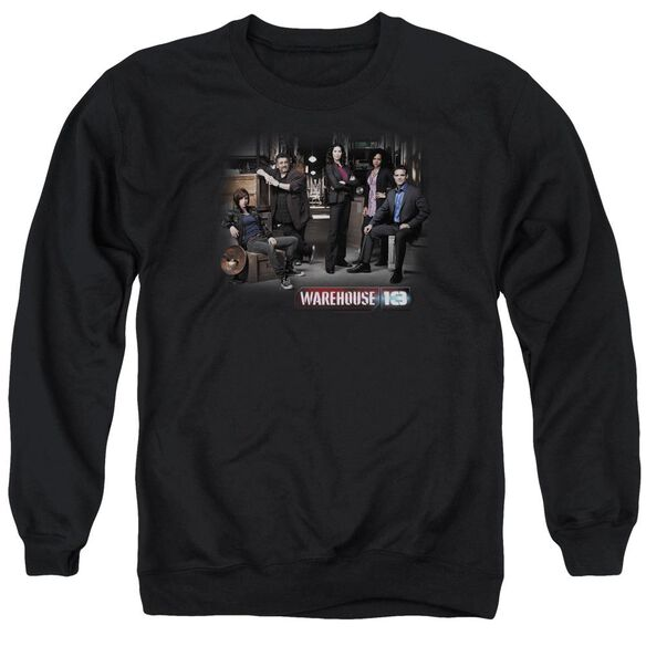 Warehouse 13 Warehouse Cast Adult Crewneck Sweatshirt