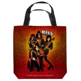 Kiss Fire Pose Tote