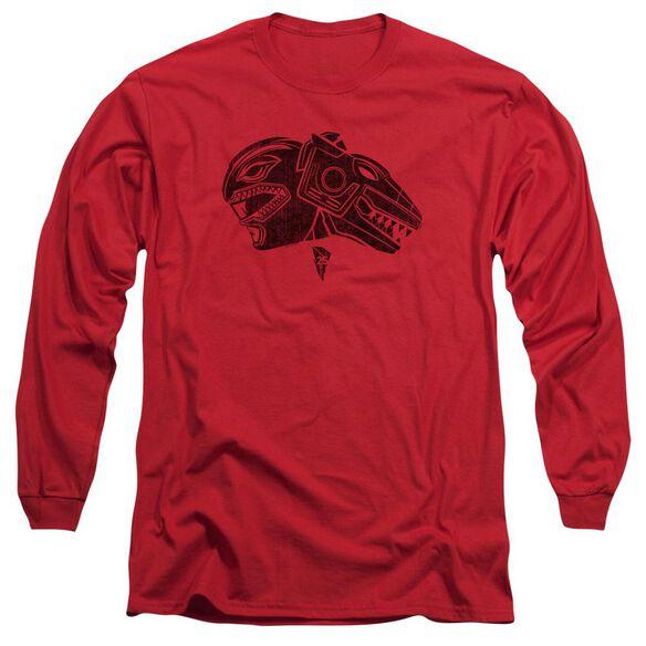 Power Rangers Long Sleeve Adult T-Shirt