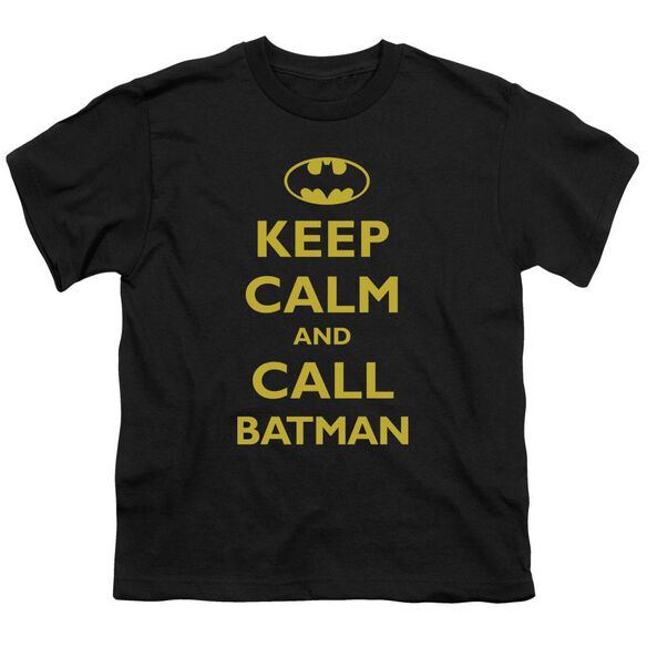 Batman Call Batman Short Sleeve Youth T-Shirt