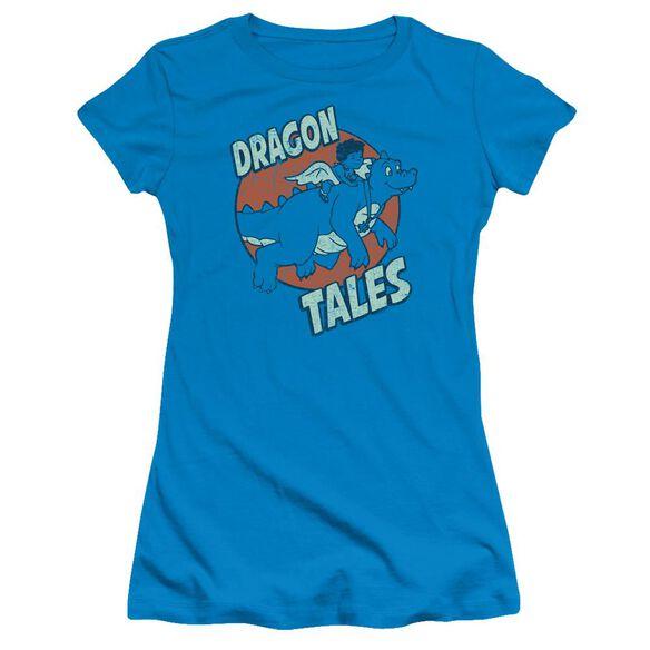 Dragon Tales Flying High Short Sleeve Junior Sheer T-Shirt