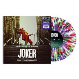 Hildur Guðnadóttir - Joker Original Motion Picture Score [Exclusive Color Splatter Viny]