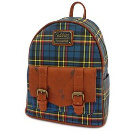 Loungefly Pokemon - Pikachu Tartan Mini Backpack