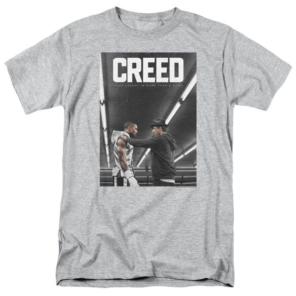 Creed Poster Short Sleeve Adult Athletic Heather T-Shirt