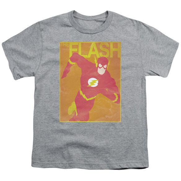 Jla Simple Flash Poster Short Sleeve Youth Athletic T-Shirt