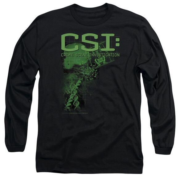 CSI EVIDENCE - L/S ADULT 18/1 - BLACK T-Shirt
