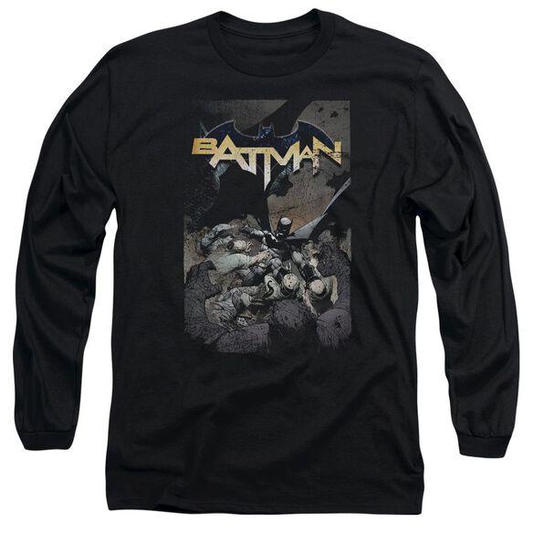 Batman Batman One Long Sleeve Adult T-Shirt