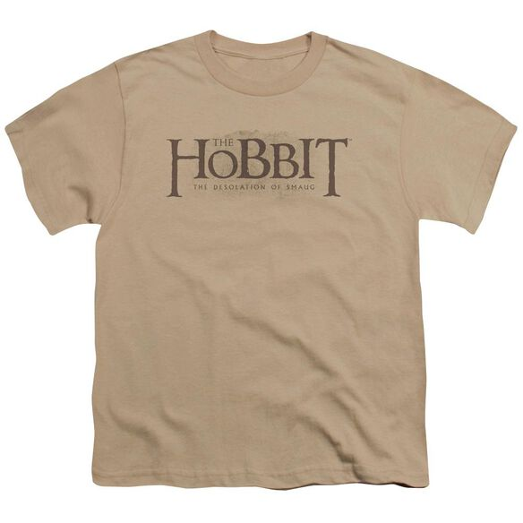 Hobbit Textured Logo Short Sleeve Youth T-Shirt