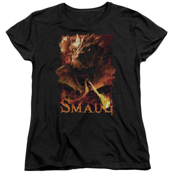 Hobbit Smolder Short Sleeve Womens Tee T-Shirt