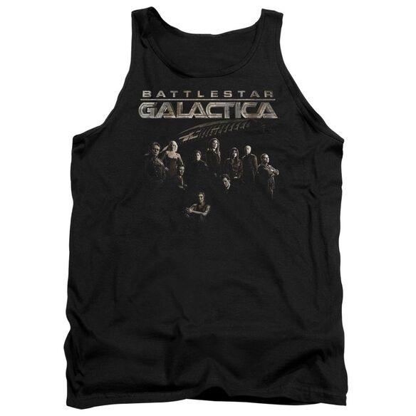Battlestar Galactica Battle Cast - Adult Tank - Black