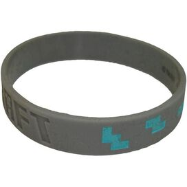 Minecraft Diamond Rubber Wristband