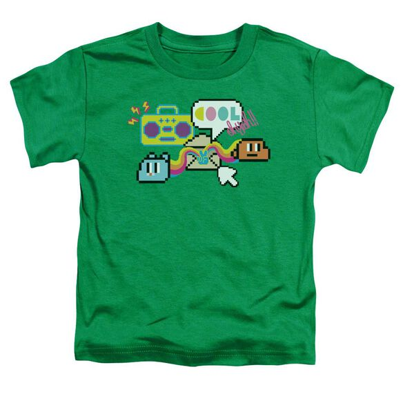 Amazing World Of Gumball Cool Oh Yeah Short Sleeve Toddler Tee Kelly Green T-Shirt